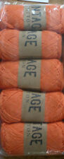 Vintage Cotton DK Hand Knitting/Crochet Yarn - 500g - Orange
