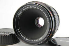 Konica Macro-Hexanon macro hexanon 55mm f/3.5 AR 35mm SLR FIX for ar w/ Caps
