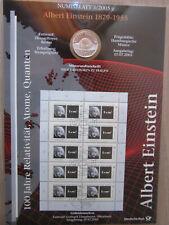 Numisblatt 3/2005 - Albert Einstein + Beiblatt