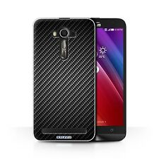 Case/Cover for Asus Zenfone 2 Laser ZE600KL/Carbon Fibre Effect/Pattern/Grey