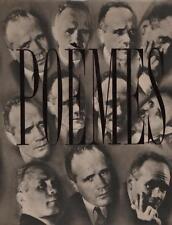 POEMES  .Le condamne a mort -Marche funebre - La galere - La parade - Un chant d