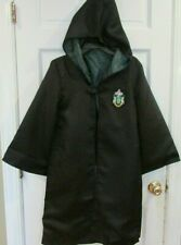 Harry Potter Slytherin Robe Cloak Kids 155 10-12  Fast USA ship Hogwarts