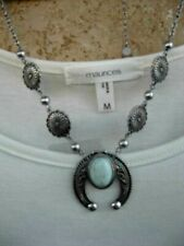 squash blossom necklace Maurices~New With tags~Silver-tone southwest