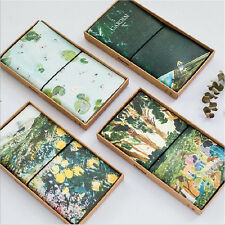"""""""Garden"""" 1pc Planner Agenda Notebook Study Scheduler Travel Journal PU Leather"""