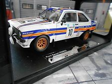FORD Escort MKII RS 1800 2.0 Rallye #10 Vatanen Akropolis Rothman s Sunstar 1:18