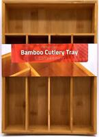 Bamboo Silverware Organizer Hardware Organizer Cutlery Tray Lot Utopia Kitchen