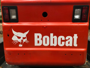 Bobcat Rear Skid Steer Replacement Aftermarket Multi-Color Vinyl Decal Sticker