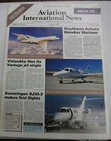 Aviation International News Magazine Raytheon Hawker December 1996 FAL 072115R