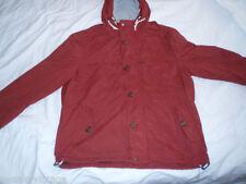 Popper Hip Length Hooded Raincoats for Men