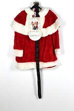 Women's Miss Père Noël Costume Robe Fantaisie 40 cm (C16a) en fourrure synthétique