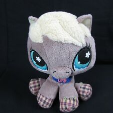 "Littlest Pet Shop Horse Pony 8"" Beanbag Plush Stuffed Animal LPS"