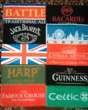 10 Ten Different Beer - Bar Towels - New - Lot 1
