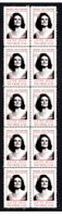 DAME JOAN SUTHERLAND OPERA STRIP OF 10 MINT VIGNETTE STAMPS 2
