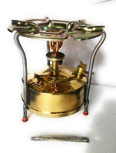 Brass camping cooking Kerosene stove  in. outdoor