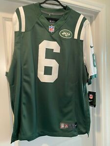 $150 NEW NIKE MARK SANCHEZ NEW YORK NY N.Y. JETS FOOTBALL JERSEY GREEN LARGE L