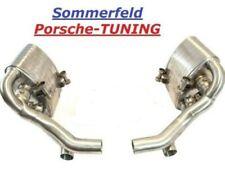 Porsche Carrera 997 + S MK2 Klappenauspuff + X-Pipe Valved sport exhaust muffler
