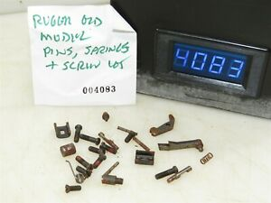 #4083 Lot of Ruger Old model revolver pins, screws, small parts
