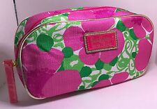 NEW!  Lilly Pulitzer Estee Lauder Cosmetic Makeup bag