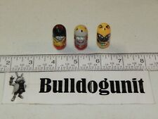 2010 Lot of 3 Mighty Beanz 207 King Bean 175 Siamese 122 Bullfighter Moose