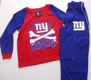 New York Giants Kids 2pc Raglan tee & Pant Sleepwear