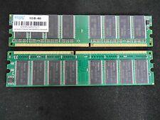 2 GB (2 x 1GB) EDGE 1GB-40 DDR DDR1 DIMM PC-3200 Desktop RAM Memory Tested LOT