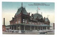 """Montreal, Qc"" - Bonaventure Station - C. N. R."