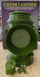 DC DIRECT GREEN LANTERN: Alan Scott POWER BATTERY PROP 1:1 Replica Set
