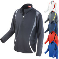 Spiro Unisex Trail Training Sports Gym Running Cycling Workout Jacket Top