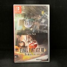 Final Fantasy 7 Vii & 8 Viii Twin Pack (Nintendo Switch)Physical / English Cover