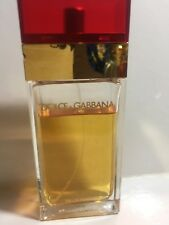 Dolce & Gabbana Red by D& G 100 ml EDT Women's Perfume spray Rare ITALY