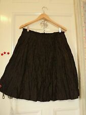 veronika maine  autumn  bronze skirt  taffeta   AS BOUGHT