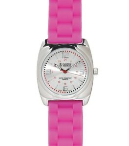 Prestige Medical Braided Band Fashion Watch Hot Pink Model1778 Free Shipping