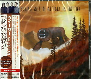 WEEZER-EVERYTHING WILL BE ALRIGHT IN THE END-JAPAN CD G07