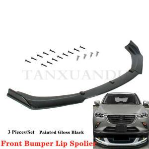 Fit For MAZDA CX-3 CX3 2015-2021 Front Bumper Lip Spoiler Underbody Kit TYQCZ102