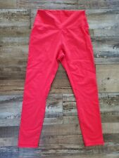 Zyia Active Red Activewear Leggings Size 6-8
