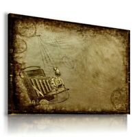 PAINTING DRAWING CAMERA VINTAGE PRINT Canvas Wall Art Picture R61 UNFRAMED
