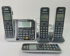 Panasonic KX-TG7871 Cordless Phone Digital Answering Machine DECT 6.0 Bluetooth