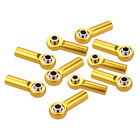 10Pcs Aluminum M4 Tie Rod End Ball Joint Link Ball Head Holder for 1/8