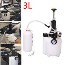 Brake & Clutch Bleeding System Fluid Bleed Tool 3 ltr Pressure Brake Bleeder