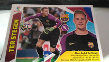 Chrome football TER STEGEN BARCELONE n° 1 liga 2017 2018 ce panini failles