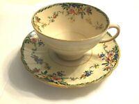 HAMPTON SURREY TEA CUP AND SAUCER