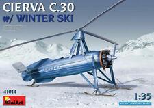 Miniart 1:3 5 Maquette Kit - Cierva C.30 Avec Hiver Ski MIN41014