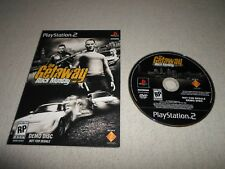 TESTED The Getaway Black Monday *DEMO DISC* PS2 Playstation 2 Not for Resale DVD