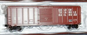 Fox Valley - N scale-  PS 5344 Box Car - Golden Triangle Railroad #1046 - 81194