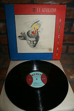 """II GENERATION """"HEAD CLEANER"""" LP RARE FIRST PRESSING USA HTF OOP NM/VG"""