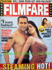 Filmfare June 2005 Shahrukhk Khan Katrina Kaif Rani Mukerji Salman Sushmita Sen