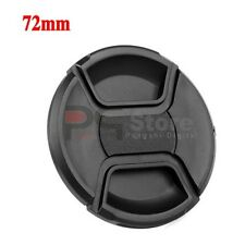 72mm Front Lens Cap Hood Cover Snap-on for Canon Nikon Tamron Sigma Sony Lens
