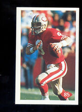 1992 Diamond STEVE YOUNG San Francisco 49ers League Leaders Sticker