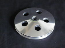 CHEVROLET POWER STEERING PULLEYS 1 V POLISHED WITH KEYWAY