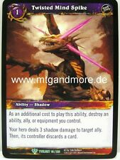 WOW - 2x Twisted Mind Spike-Twilight of the Dragons